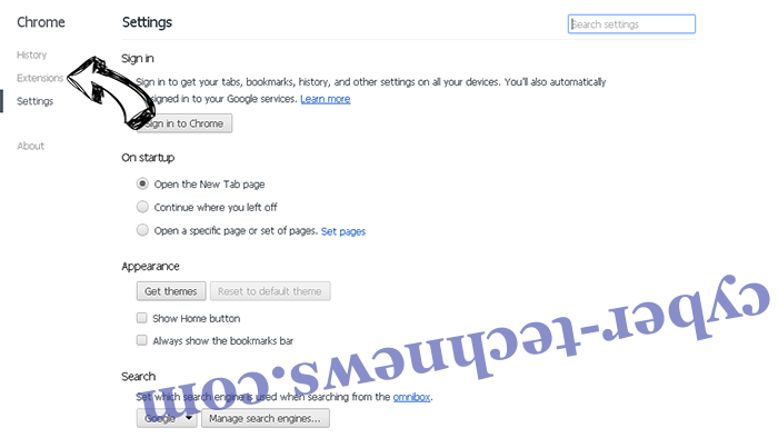 Urgent Firefox Update Virus Chrome settings