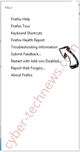Search.searchm3w1.com Firefox troubleshooting