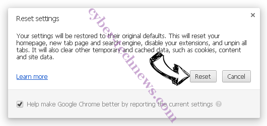 ChromeTab.online Chrome reset
