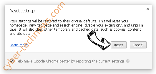 Services.findwide.com Chrome reset