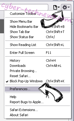 search.hpdfconverterhub.com Safari menu