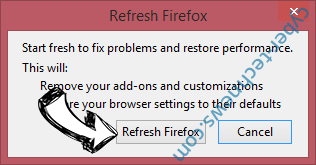Findiosearch.com Firefox reset confirm