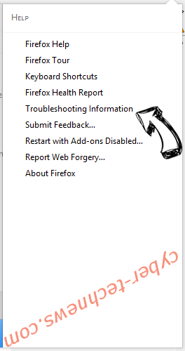 Knctr virus Firefox troubleshooting