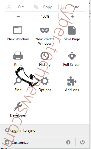Finder.ninja Firefox reset confirm