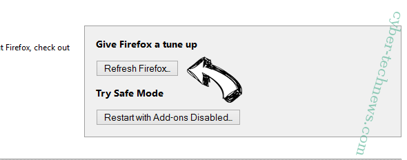 Search.hpackagefinder.app Firefox reset