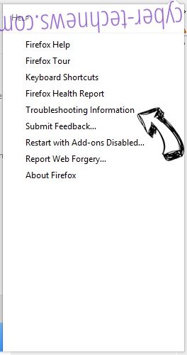 Search.convertallfiles.com Firefox troubleshooting