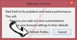 Search.hnewsscoop.co Firefox reset confirm