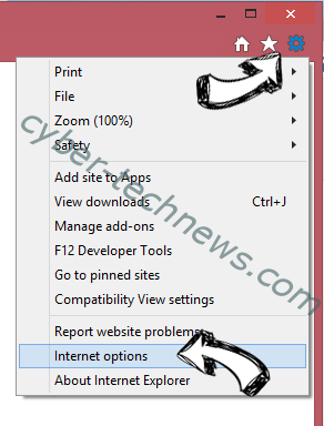 One Click Booster IE options