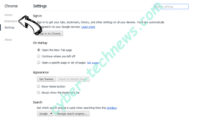 Browser Blocked Based On Your Security Preferences scam Chrome settings
