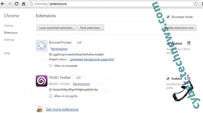 Kittens New Tab Browser Hijacker Chrome extensions remove