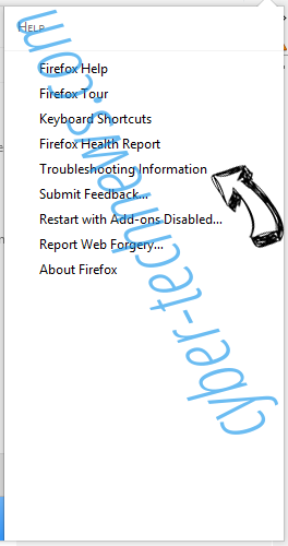 Search.mediatabtv.online Firefox troubleshooting