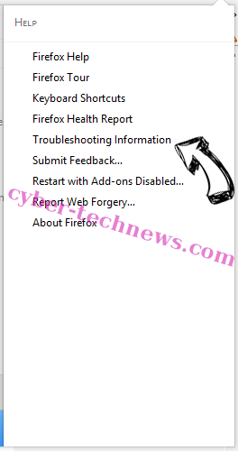 Update Checker Adware Firefox troubleshooting