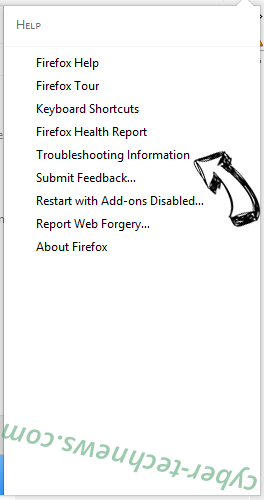 Safe Finder virus Firefox troubleshooting