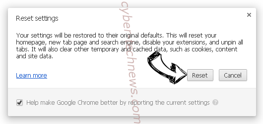 Srch_s.thesearchguard.com Chrome reset