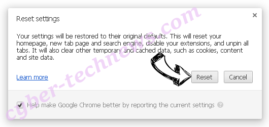 SECOH-QAD.exe Chrome reset