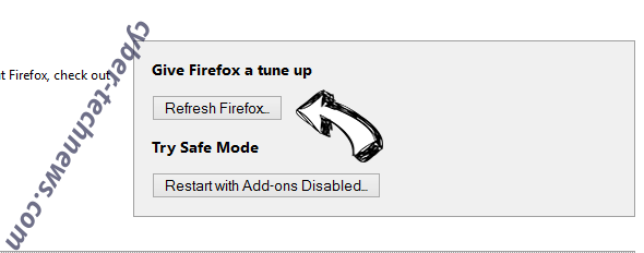 Search Manager Firefox reset