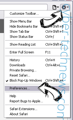 Hitcpm.com Safari menu