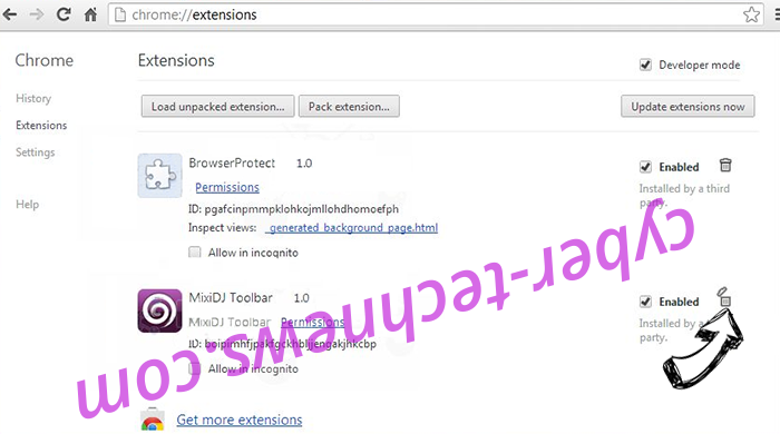 Pop.yea2202.vip Chrome extensions remove