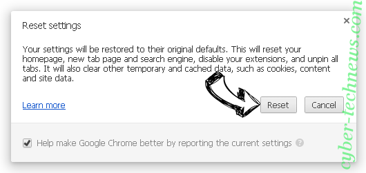Search.searchfstn3.com Chrome reset
