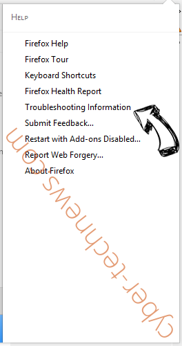 Search.searchvzc.com Firefox troubleshooting