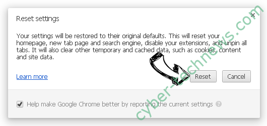 Search.searchwtii.com Chrome reset