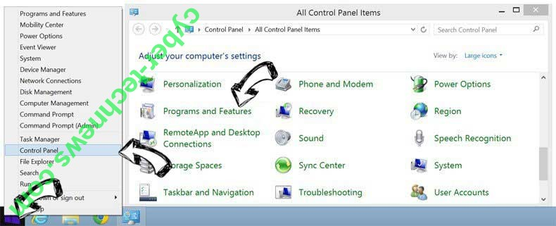 Delete Microsoft Cleanup Virus from Windows 8