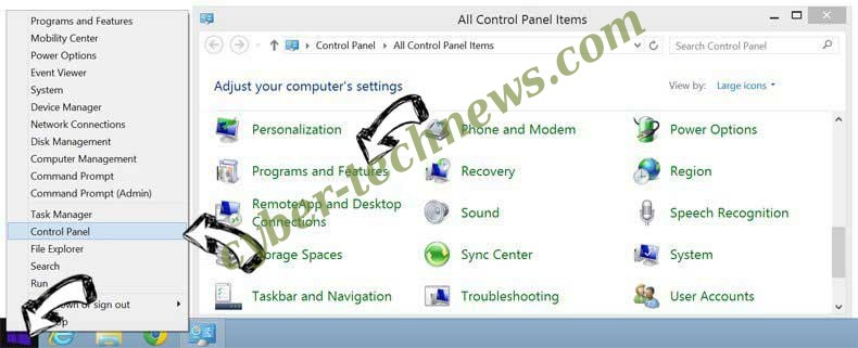 Delete Motitags Toolbar from Windows 8