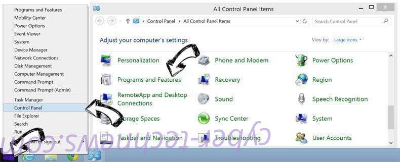 Delete login to my email virus from Windows 8
