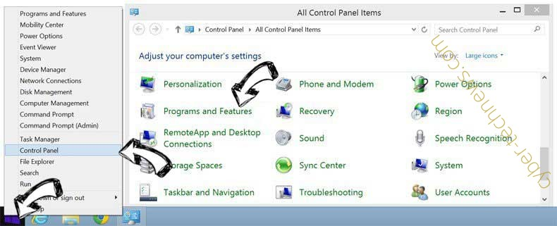 Delete Fastmailtab.com virus from Windows 8