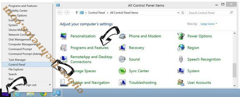 Delete netfind.com virus from Windows 8