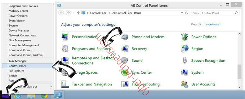 Delete Microsoft Warning Alert Scam from Windows 8