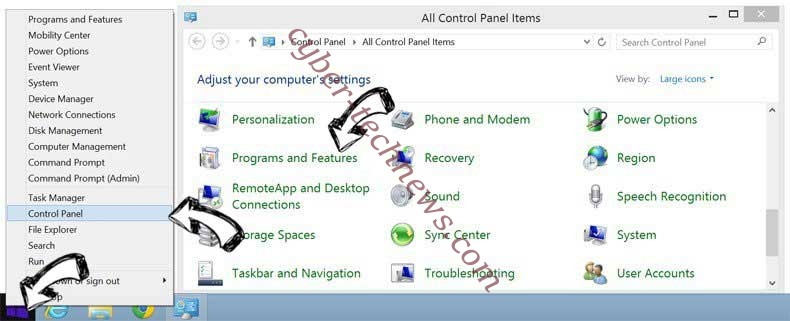 Delete ScreenWatch Now Toolbar from Windows 8