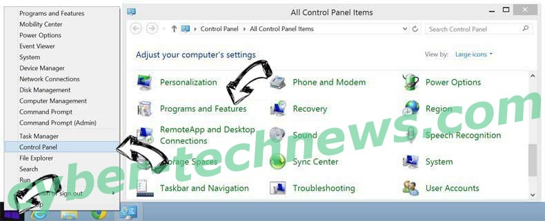 Delete TrickBot Virus from Windows 8