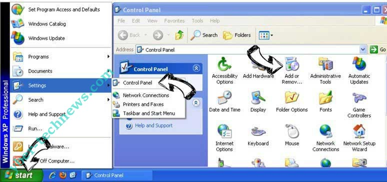 Remove Search14.co from Windows XP