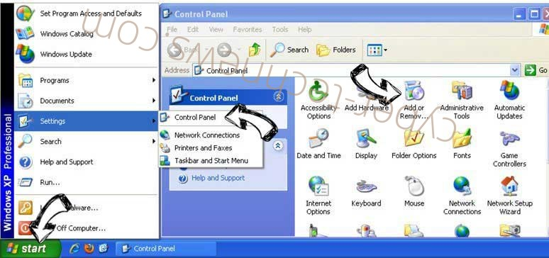 Remove Fastmailtab.com virus from Windows XP