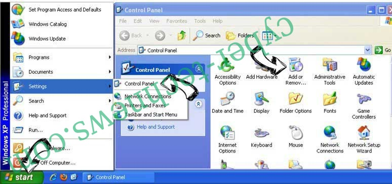 Remove Surfnav.com from Windows XP