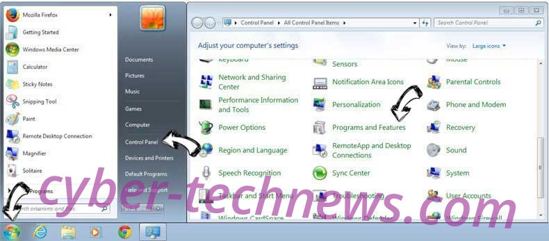 Uninstall ScreenCapture.app from Windows 7