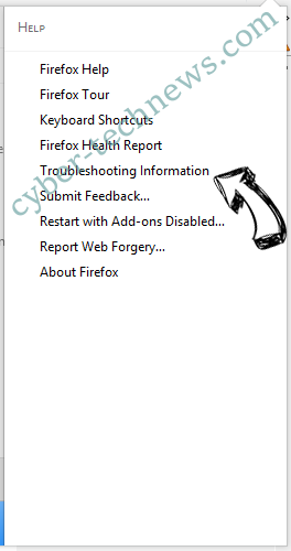 Chill-tab Search Virus Firefox troubleshooting