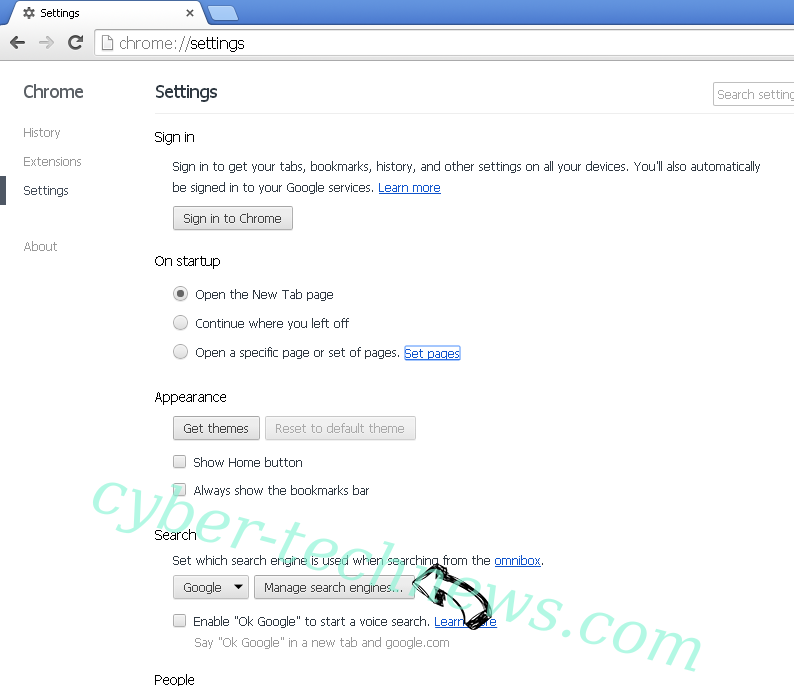 Tabs2Grid Virus Chrome extensions disable
