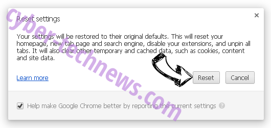 1bl0g.net Chrome reset
