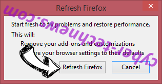 Quick Flight Tracker Firefox reset confirm