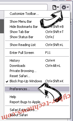 1bl0g.net Safari menu