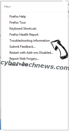 Search.cal-cmf.com virus Firefox troubleshooting