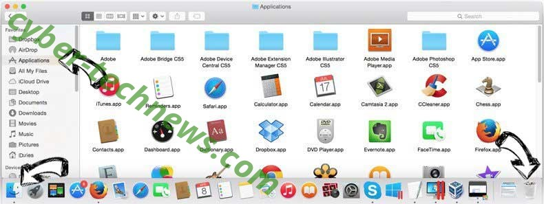 Search By eTogether removal from MAC OS X