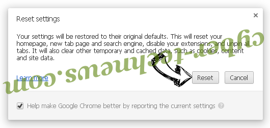 Searchall.network Chrome reset