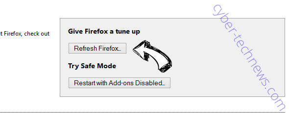 Search.huniversalconverter.co Firefox reset