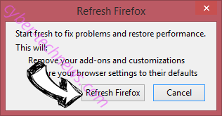 Topsitesearches.com Firefox reset confirm