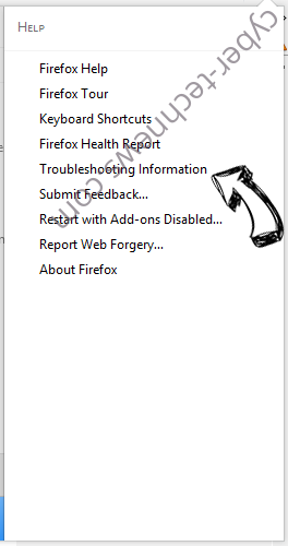 Go.amroute.net Redirect Virus Firefox troubleshooting