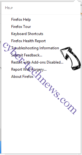 Search.hthenewssource.net Firefox troubleshooting