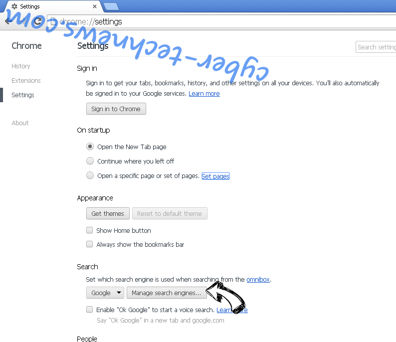 Search.webalta.ru Chrome extensions disable